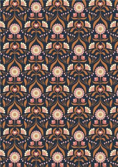 Textile Patterns, Print Patterns, Floral Patterns, Textiles, Art Gallery Fabrics, Drawing Room, Surface Pattern Design, Graphic Illustration, Fabric Design
