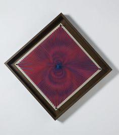 Alberto Biasi _  Dinamica Visiva _ 60x60 cm _ Gruppo Enne _ XXXII Biennale di Venezia_1964