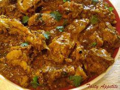 Pepper Chicken Masala / Spicy Chicken Masala Curry | Tasty Appetite