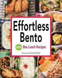 Bento books have been some of the more accessible and popular genres coming out of Japan over the last few years, and Effortless Bento is essentially the bento encyclopedia. Filled with hundreds of fu