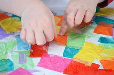 Foil Collage - an easy art activity for kids