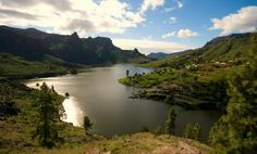 Presa de Ayagaures, Gran Canaria - Islas Canarias