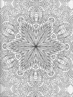 Kaleidoscope Coloring Pages   Geometrip.com - Free ...