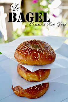 Bagel comme à New York