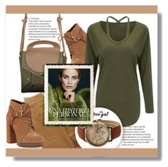 """""""Army green"""" by jenny007-281 ❤ liked on Polyvore featuring Current/Elliott and BCBGeneration"""