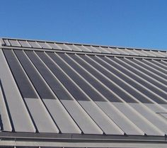 Thin Film Solar panels on a McElroy Metal Roof
