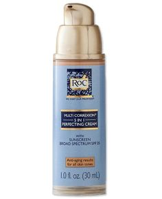 ROC 5-IN-1 PERFECTING BB CREAM  The added dose of retinol in RoC's light-as-air BB cream ($29; dermstore.com) gives your anti-aging cream extra insurance, working overtime to fill in fine lines, reduce dark spots, and restore elasticity.
