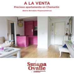 ➡️ ¡¡REBAJADO!! ⬅️ Exclusivo apartamento con unos acabados preciosos y una localización privilegiada en el barrio Bernabéu/Hispanoamérica de #Chamartín en #Madrid.
