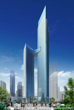 ASE Center R6, Chongqing-China, 468 m, UC, architect-Dennis Lau & Ng Chun Man Architects & Engineers