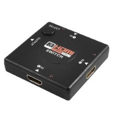 HDTV 1080P Display Video DVD 3 Ports HDMI Switch: Amazon.co.uk: Computers & Accessories