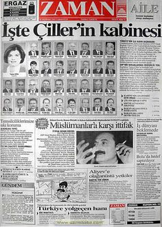 Zaman gazetesi 26 haziran 1993