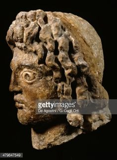Head of Alexander the Great (Pella, Greece, 356 BC-Babylon, Iraq, 323 BC), King of Macedonia. Hellenistic statue, from the Temple of Serapis (the Serapeum), Alexandria, Egypt, 3rd-2nd century BC.