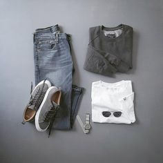 "2,739 Likes, 6 Comments - VoTrends® Outfit Ideas for Men (@votrends) on Instagram: ""Grey day everyday Remember to follow @votrends ✨ #votrendsapproved By @silverfox_collective"""