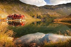 Balea Lake by Tony Goran on Places Around The World, Around The Worlds, Beautiful Roads, Beautiful Places, Come And See, Romania, Landscape Photography, The Good Place, Tourism