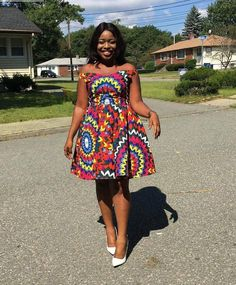 kitenge designs Unleash Your Style In These Jaw-Dropping Ankara Styles - Wedding Digest Naija African Dresses For Kids, African Dresses For Women, African Print Dresses, African Attire, African Outfits, African Prints, African Women, African Fashion Designers, African Fashion Ankara