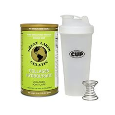 ** Sensational bargains just a click away: Great Lakes Gelatin, Collagen Hydrolysate 16-Ounce Can and By The Cup Shaker Combo at baking desserts recipes.