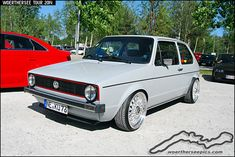 Grey VW Golf Mk1 | by Retro-Motoring & WoertherseePics