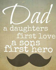::milk & honey ::: Father's Day printable