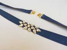 Navy blue belt. Elastic waist belt. Swarovski crystals belt. Sparkly dress belt. Stretch belt. Dark blue belt. Jeweled belt. Bridal belt. by MissLaceAccessories on Etsy