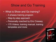 My personal review of show and go training program ebook by Eric Cressey.