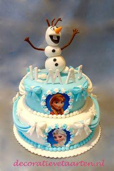 Taart 'Frozen - Olaf'