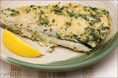 Fried Fish with Lemon Thyme