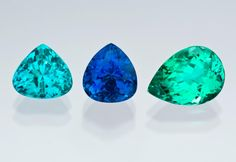 The Paraíba deposit revealed a range of new tourmaline colors unrivaled for their strongly saturated hues and light to medium tones. GIA (020215)