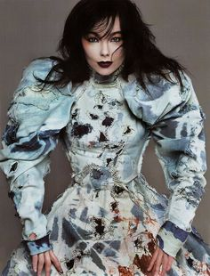 """There's a one liner in The Unlove Spell, after someone explains to Marling that the fae originated in Iceland, where she says something along the lines , """"Well that explains Bjork."""" Yep."""