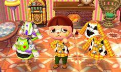 Animal Crossing: New Leaf Animal Games, My Animal, Woody Costume, Film Manga, Jessie Toy Story, Ac New Leaf, Woody And Buzz, City Folk, Animal Crossing Qr Codes Clothes