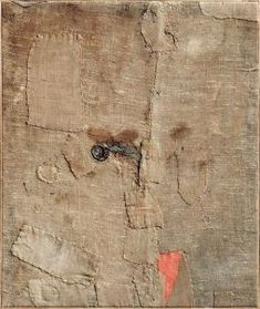Working With the Given: Alberto Burri, Alberto Burri, Museums In Nyc, Brown Art, Italian Painters, Mixed Media Artwork, Flash Art, Textile Artists, Ceramic Painting, Textiles