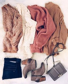 fall knits shades