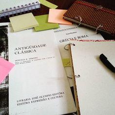 Charlô - Cadernos Artesanais (@charlo_artesanato) | Instagram photos and videos    Paixão de estudante no domingo: Antiguidade Clássica! Arte Grega e Romana ❤📚✏📓🎨 #charlo  #cadernoargolado  #cadernofichario  #argolaarticulada  #caderno  #cadernoartesanal  #Italia  #Italy  #itália  #antiguidade  #grecia  #roma  #arte  #artesanato  #foconoestudo  #estudante  #meucantodeestudos  #compartilhandofotosfofas  #vestibular  #enem2017  #studygram  #artgram  #postit  #stickynotes  #postits