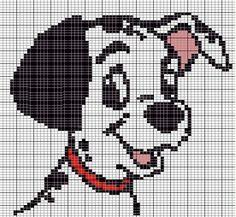 101 Dalmatians perler bead pattern