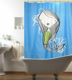 Cortinas de ba o on pinterest shower curtains curtains - Cortinas bano originales ...