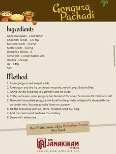 Gongura Pachadi - Recipe