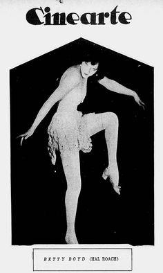 BETTY BOYD - (CINEARTE, July 20, 1927, Rio de Janeiro, Brazil)