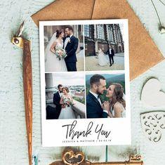 Thank You Cards, Wedding Thank You Cards, Wedding Thank You Cards With Photo, Thank You Cards Wedding, Thank You Card, Wedding Thank You