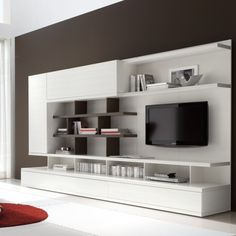 Odion Free Standing TV Wall System B908
