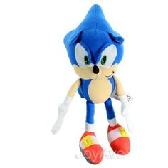 "Sonic the Hedgehog 15"" Plush Doll: Classic Sonic Plush >>> Want additional info? Click on the image. (This is an affiliate link) #PlushFigures"