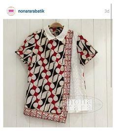 Batik Kebaya, Kebaya Dress, Batik Dress, Model Dress Batik, Blouse Batik Modern, Dress Batik Kombinasi, Mode Batik, Amarillis, Batik Fashion