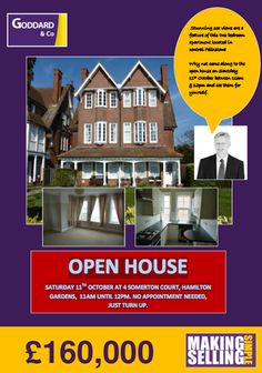 Open House in Felixstowe on Saturday 11th October 2014.