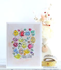 Simon Says Clear Stamps SPRINGTIME CRITTERS SSS101619 Preview Image