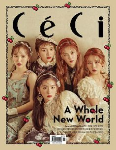 Red Velvet go for a Victorian look for 'CeCi' cover | allkpop