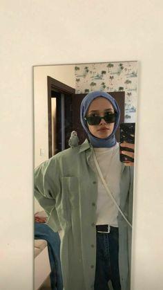 Hijab Fashion Summer, Modern Hijab Fashion, Street Hijab Fashion, Muslim Fashion, Minimalist Fashion Women, Mode Hijab, Hijab Outfit, Look Cool, Streetwear Fashion