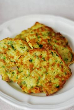 Low carb: Zucchini Pancakes