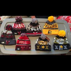 ⚪️NEW KNIT WINTER CAPS! Bulls & Pacers⚪️ I have a variety of knit winter caps for sale! Represent your favorite NBA team! New Era Accessories Hats