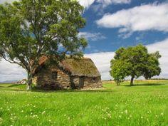 Leanach Cottage Culloden Moor  Culloden Battlefield
