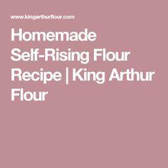 Homemade Self-Rising Flour Recipe   King Arthur Flour