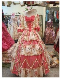 Special Offer New Satin 17 18th Century Baroque Rococo Marie Antoinette Ball Gown A Line