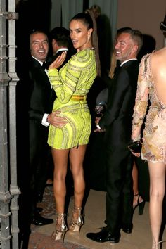 Pin for Later: Alessandra Ambrosio Had So Much Fun at This Milan Fashion Week Party
